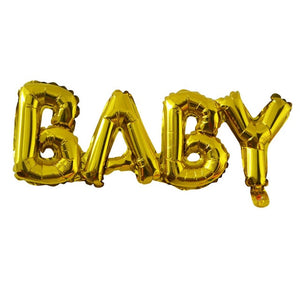 Gold BABY Balloon - Miss Decorate