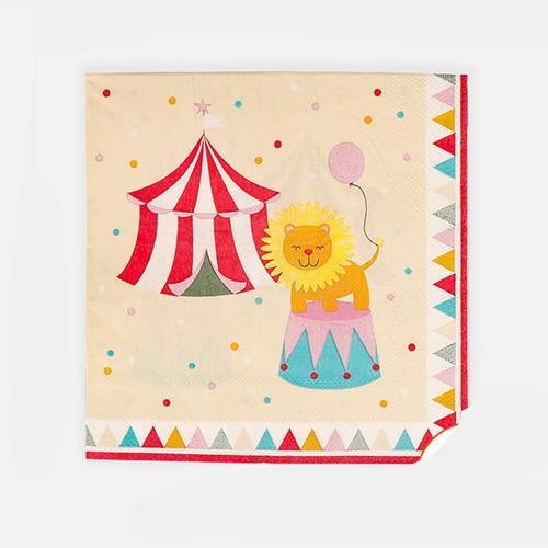 The Circus - Napkins - Miss Decorate
