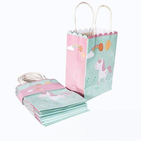 Rainbow Unicorn - Gift Bag - Miss Decorate
