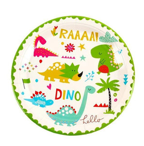 Little Dinosaurs - Plates - Miss Decorate