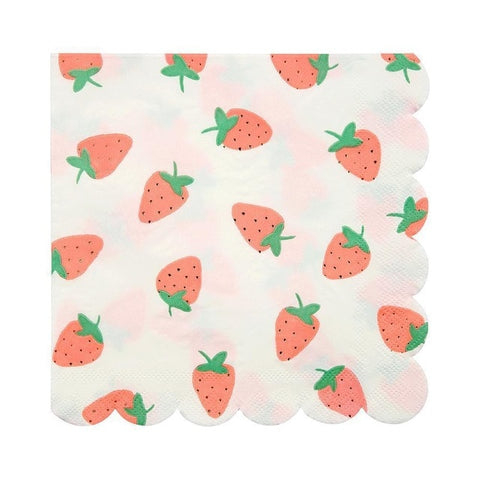 Strawberry - Napkins - Miss Decorate