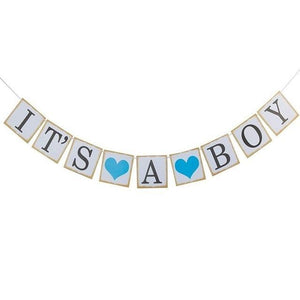 It's a Boy - Garland - Miss Decorate