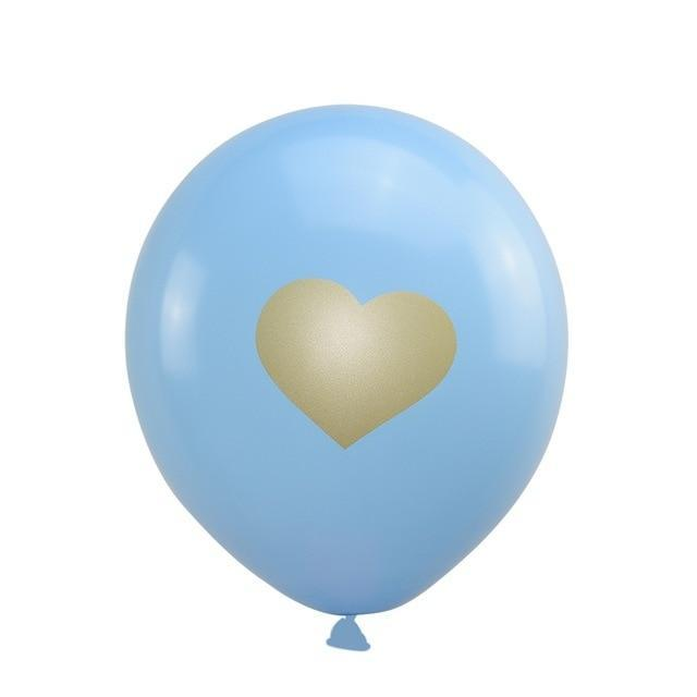 Blue Heart- Balloons - Miss Decorate