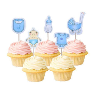 It's a Boy - Cake Toppers - Miss Decorate