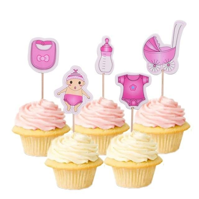 It's a Girl - Cake Toppers - Miss Decorate