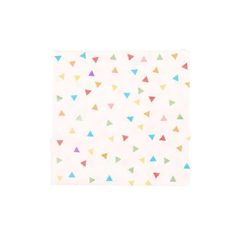 Happy Triangle - Napkins - Miss Decorate