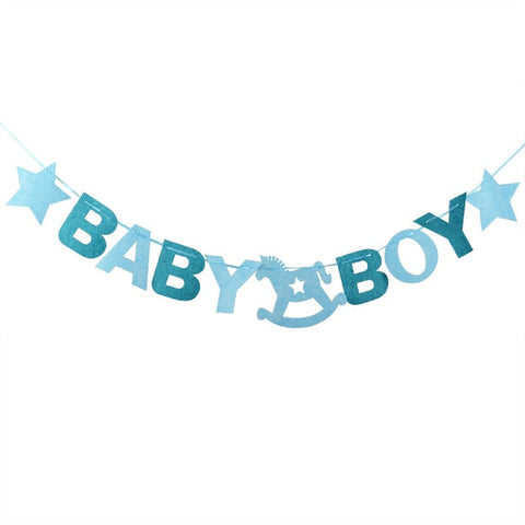 Baby Boy - Garland - Miss Decorate