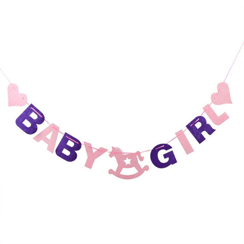 Baby Girl - Pennant - Miss Decorate