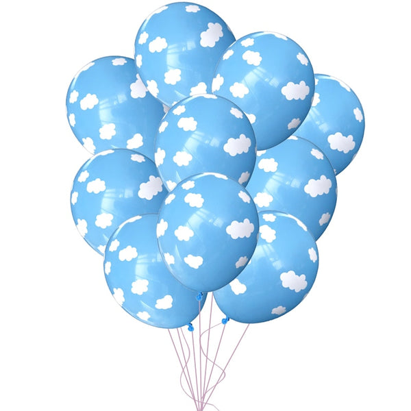 Blue Clouds - Balloons - Miss Decorate