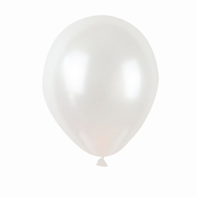 Pearl White - Balloons - Miss Decorate