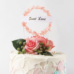 Sweet Love - Cake Topper - Miss Decorate
