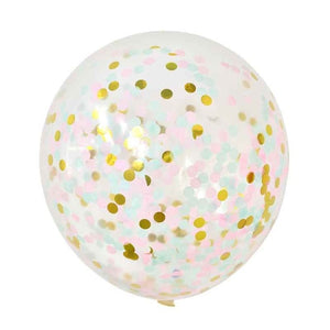 Pastel Mix Confetti - Balloons - Miss Decorate