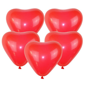 Red Heart - Balloons - Miss Decorate