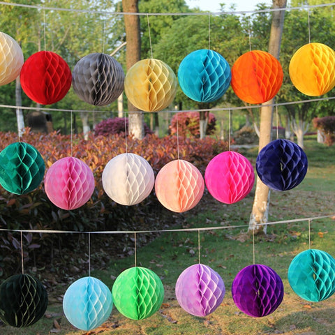 "Honeycomb 8"" - 20 colors - Miss Decorate"