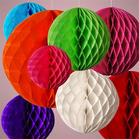 "Honeycomb 6"" - 20 colors - Miss Decorate"