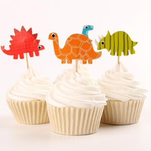 Dinosaur Cake Toppers - Miss Decorate