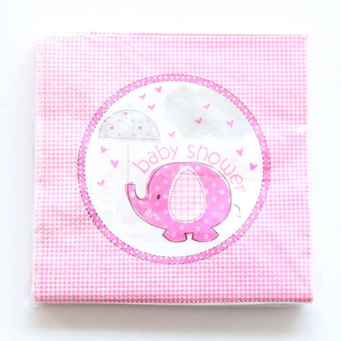 Baby Elephant - Napkins - Miss Decorate
