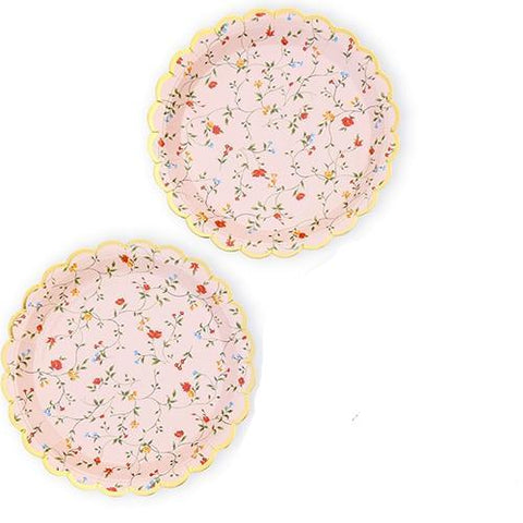 Romantic Floral Plates - Miss Decorate