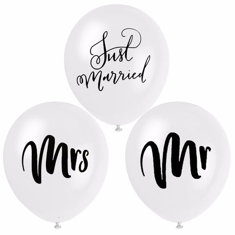 Stylish Wedding - Balloons - Miss Decorate