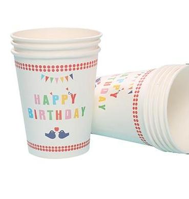 Birthday Birds - Cups - Miss Decorate