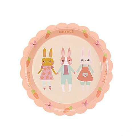 Rabbit Friends - Plates - Miss Decorate
