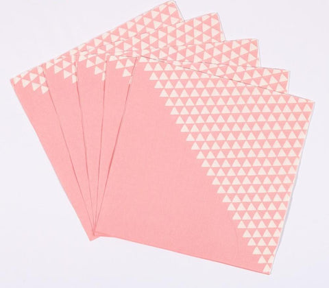 White Triangles - Napkins - Miss Decorate