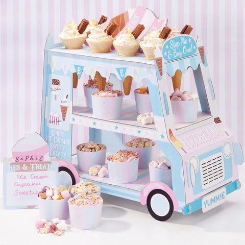 Ice Cream Van - Cupcake Stand - Miss Decorate