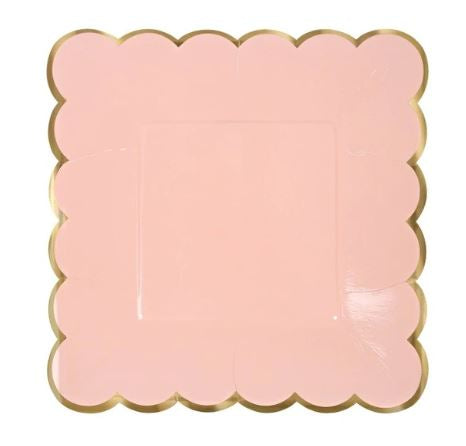 Pink Fog - Square Plate - Miss Decorate