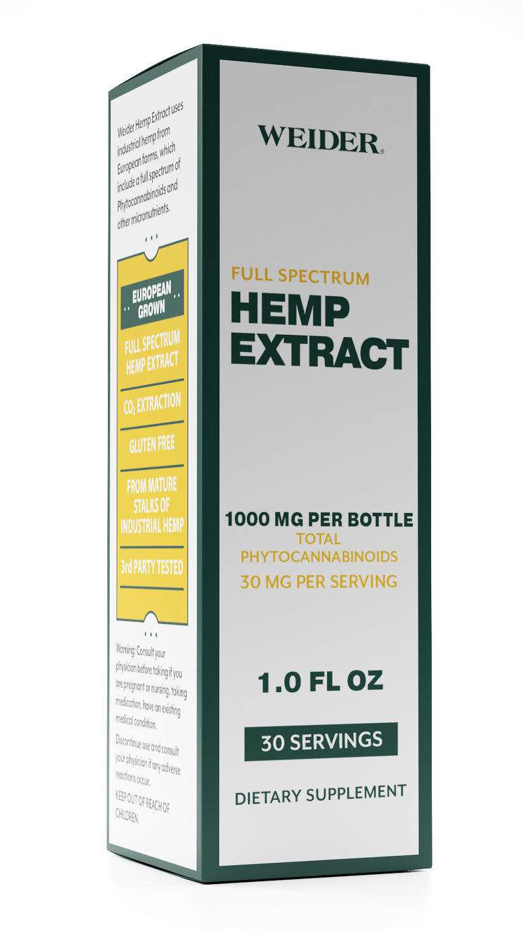Weider Hemp Extract Oil