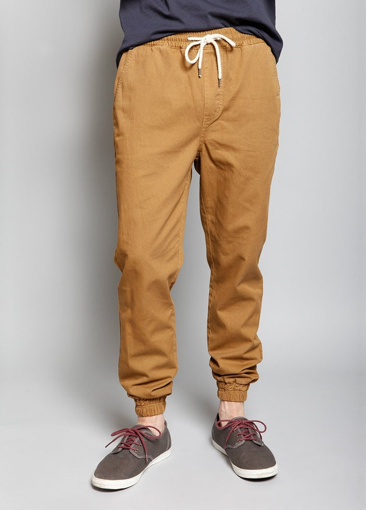 DOUBLE SHOT JOGGER PANT TOAST - BROOKLYN INDUSTRIES