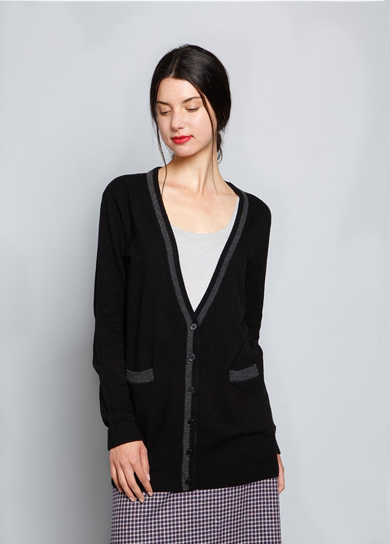 CADET CARDIGAN W - BROOKLYN INDUSTRIES