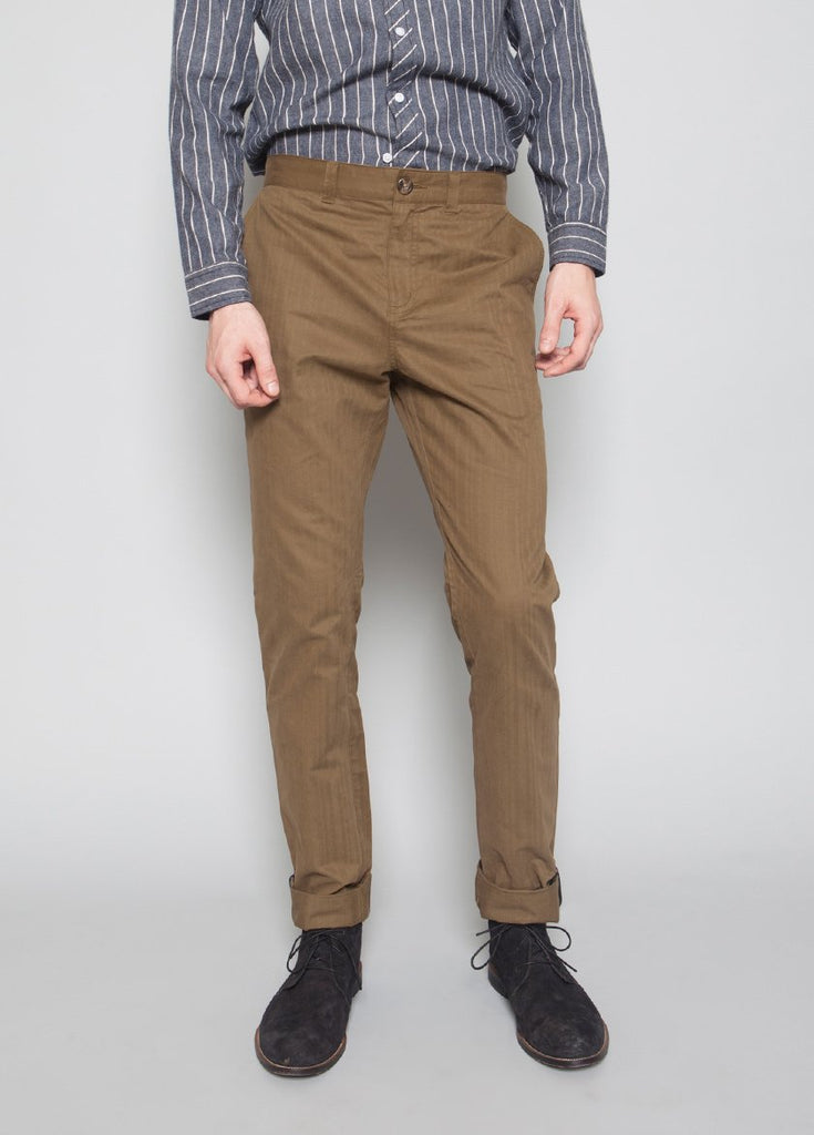 Franklin Brushed Chinos BEECH - BROOKLYN INDUSTRIES