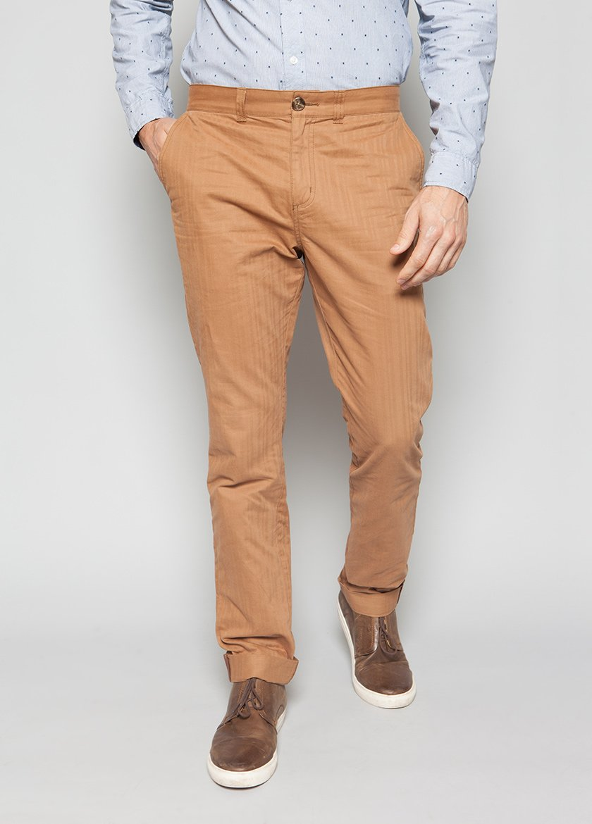 FRANKLIN BRUSHED CHINO TOASTED COCO M - BROOKLYN INDUSTRIES
