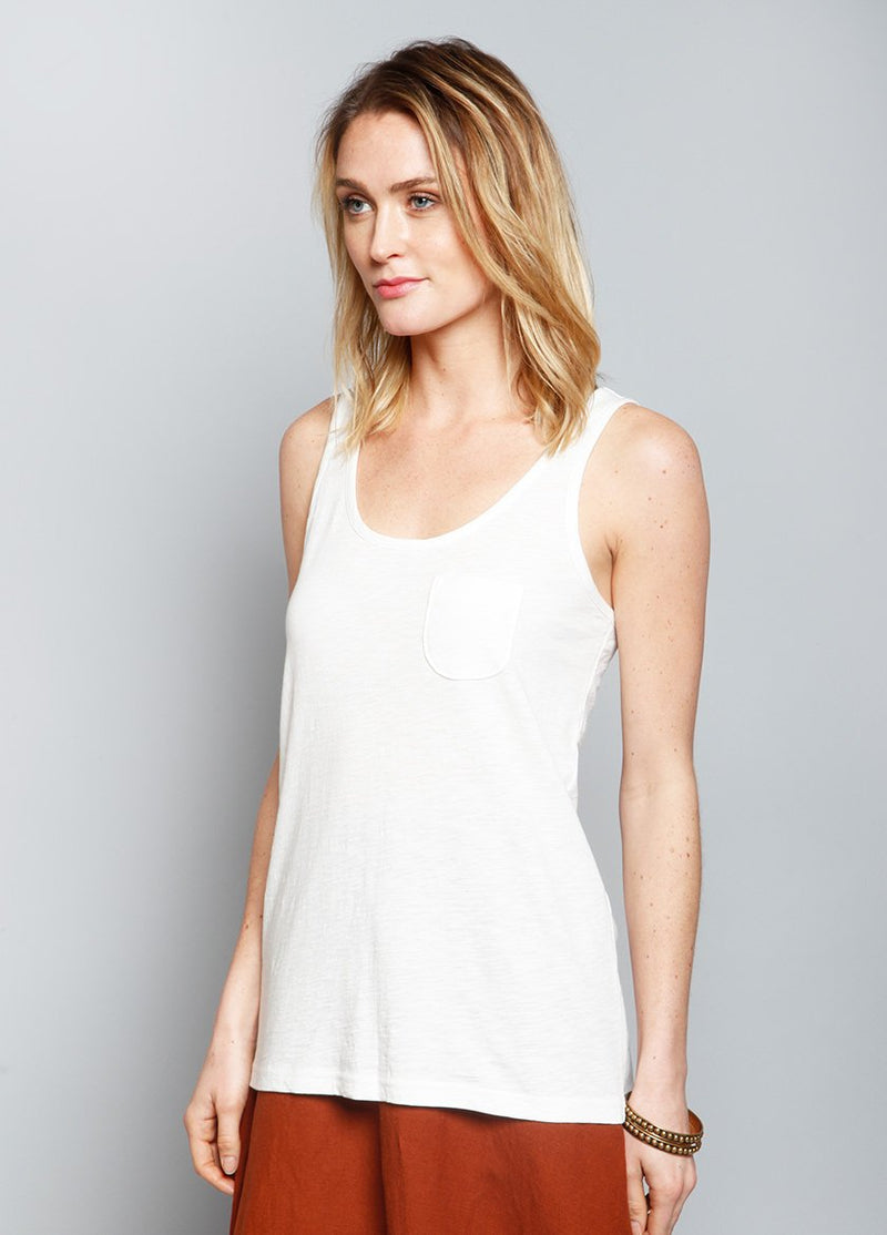 CREEKSIDE TANK WHITE