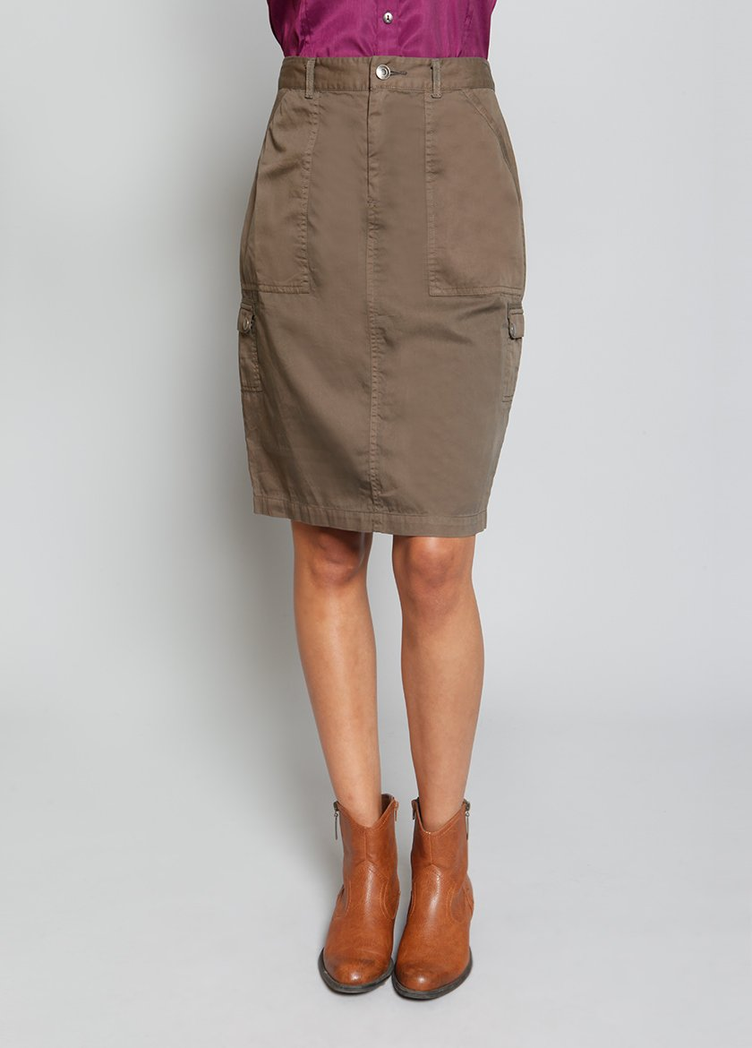 MONTEREY CARGO SKIRT - BROOKLYN INDUSTRIES