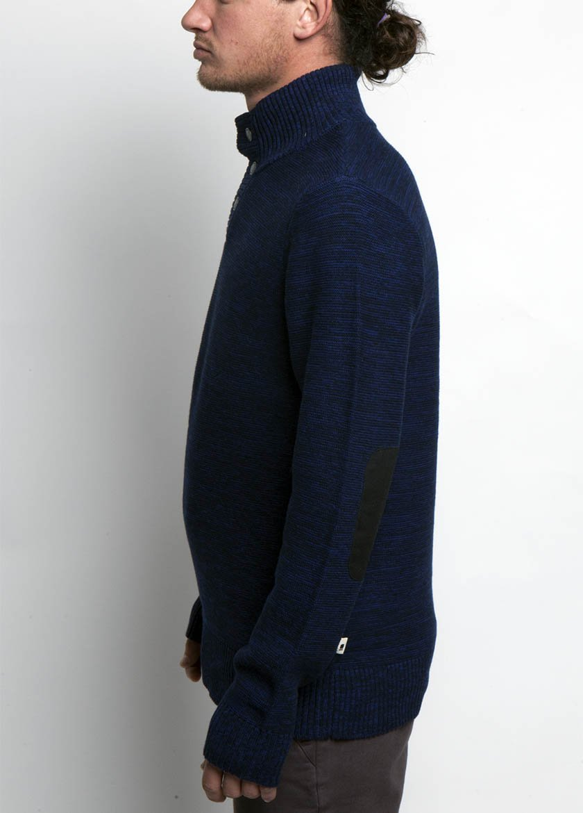 Almanac Mockneck Sweater Eclipse Side Image