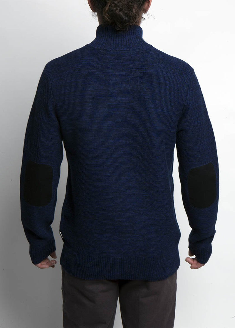 Almanac Mockneck Sweater Eclipse Back Image