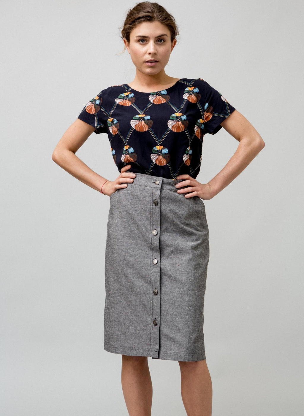 POSEY SKIRT W - BROOKLYN INDUSTRIES