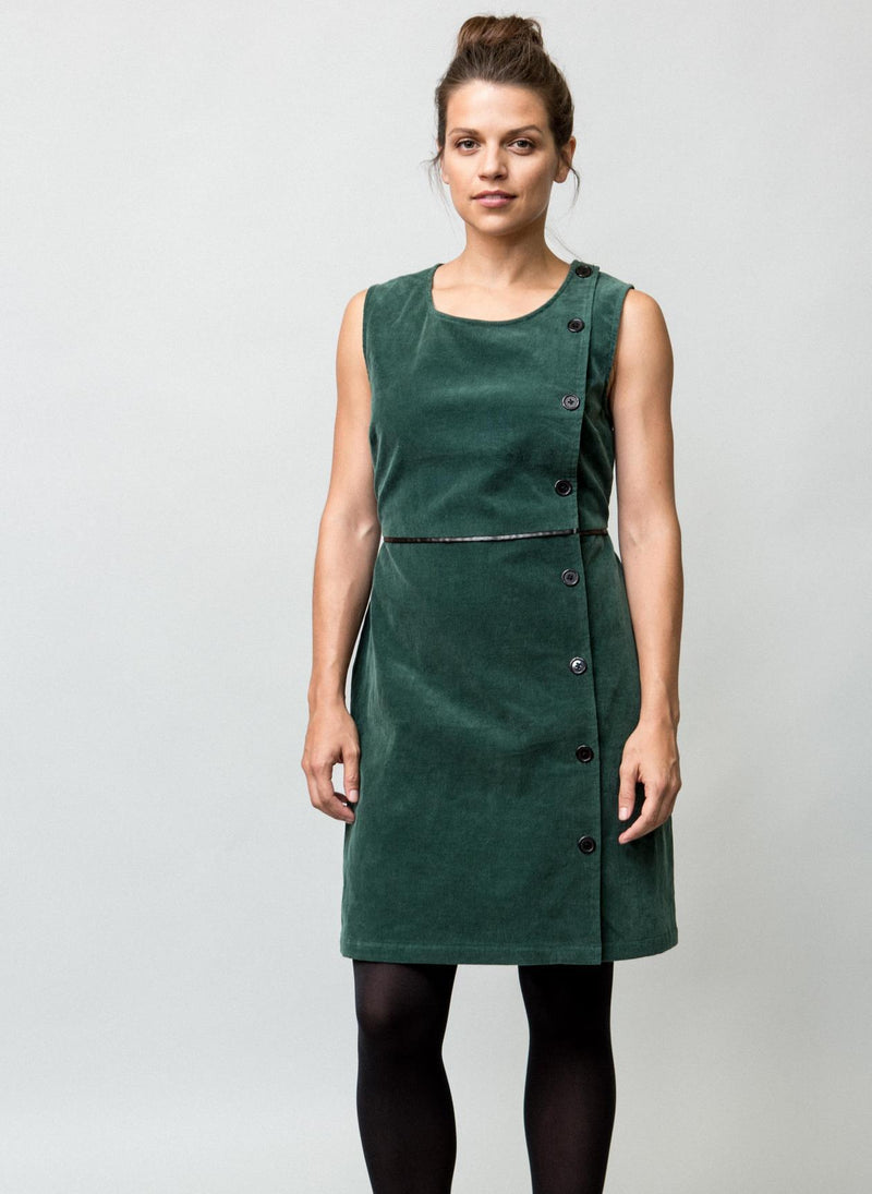 JOSIE PINAFORE DRESS W
