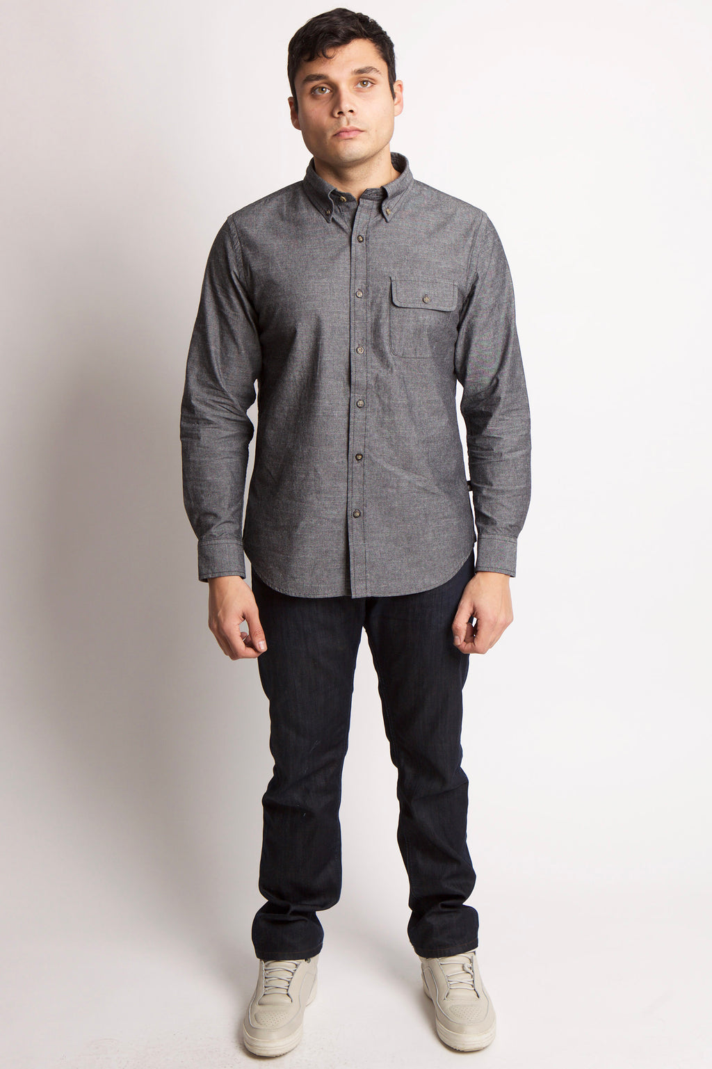 DURHAM OXFORD SHIRT - BROOKLYN INDUSTRIES