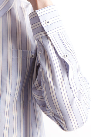 Left cuff of man's shirt