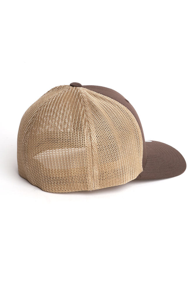 278 TRUCKER CAP BROWN - BROOKLYN INDUSTRIES