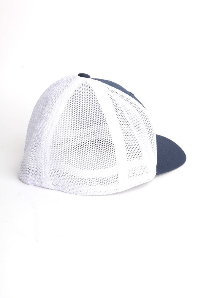 278 TRUCKER CAP NAVY/WHITE - BROOKLYN INDUSTRIES