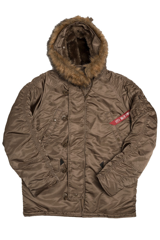 ALPHA N-B PARKA M - BROOKLYN INDUSTRIES