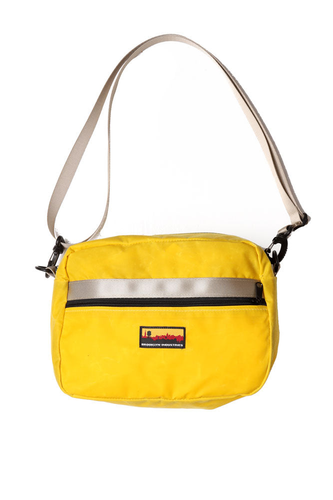 BFF WAIST PACK IN YELLOW WAXED CANVAS