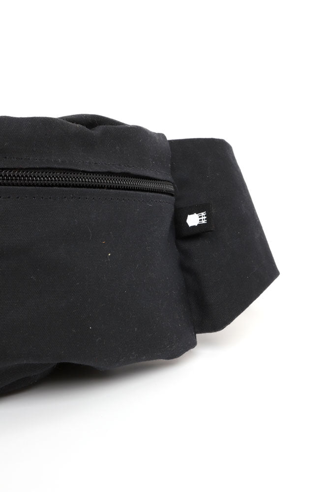ZEKI WAXED WAISTPACK - BROOKLYN INDUSTRIES