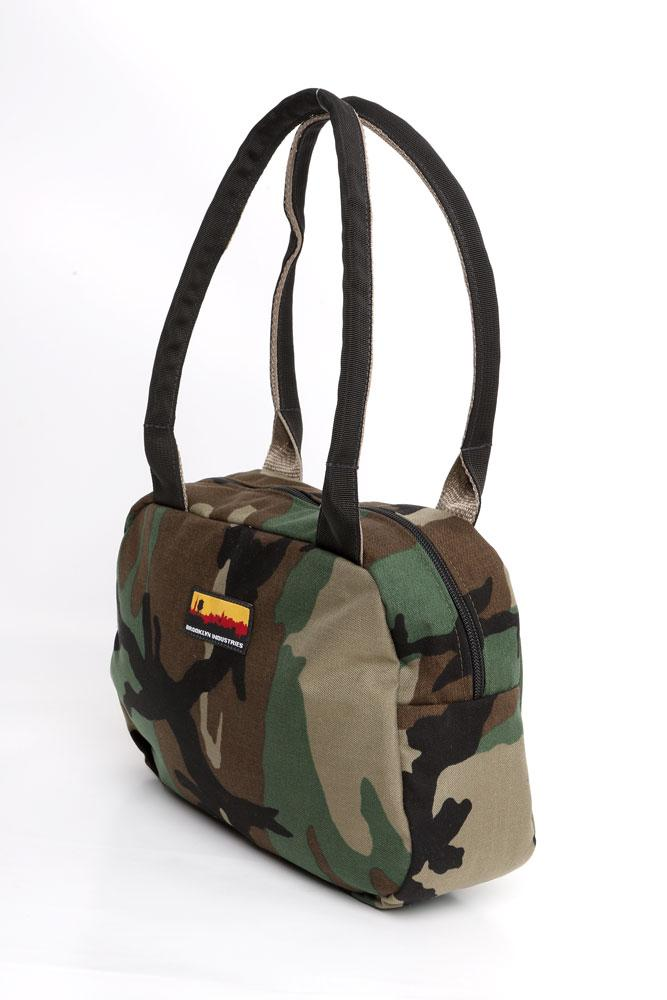 BOWLING BAG SIDE VIEW WOODLAND CAMO
