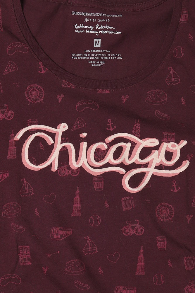 CHICAGO ICONS W *ARTIST SERIES* - BROOKLYN INDUSTRIES