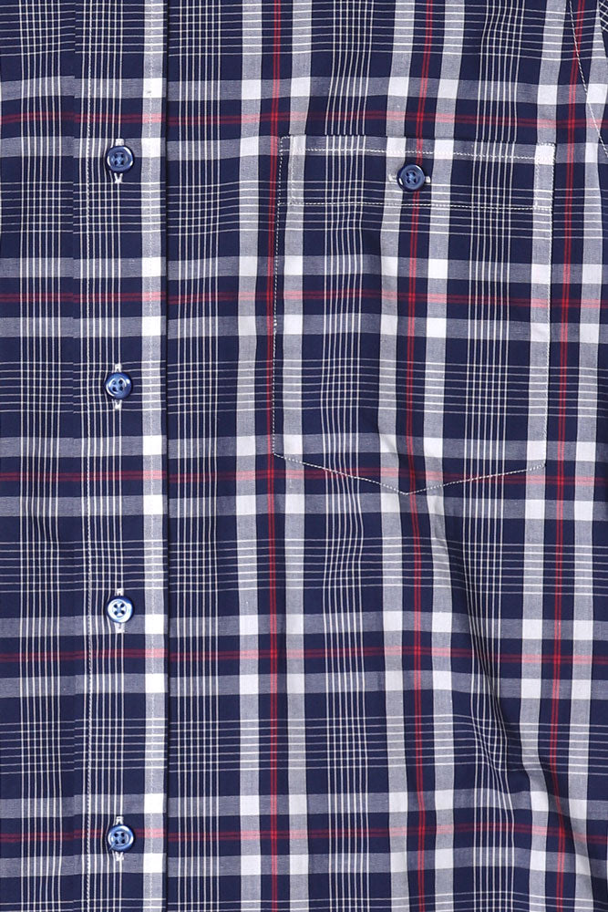 GRADO PLAID SHORT SLEEVE SHIRT M - BROOKLYN INDUSTRIES
