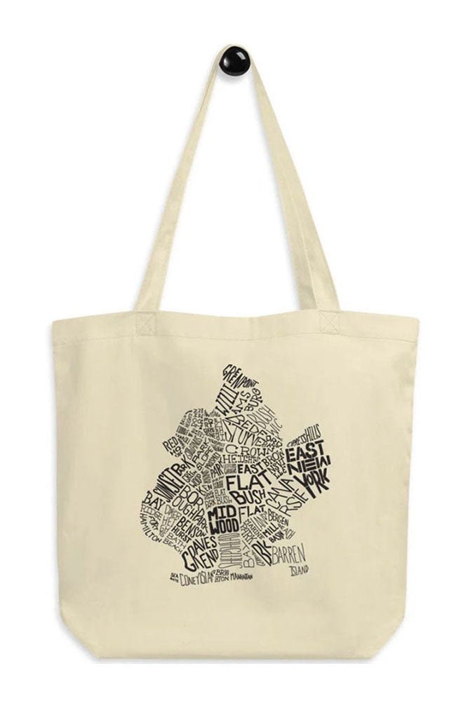 KNOW YOUR NEIGHBORHOOD TOTE - BROOKLYN INDUSTRIES